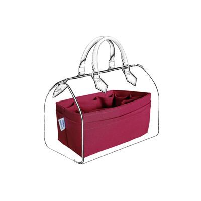 【超取免運】名牌包收納袋中袋|LV Speedy 30 專用包中包|素色紅【歐必買ObuyNow】 (9.2折)