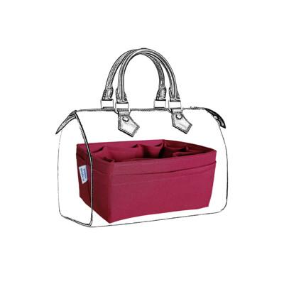 名牌包收納袋中袋|LV Speedy 25專用包中包|紅色【歐必買ObuyNow】 (7.8折)