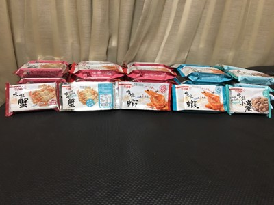 口卡口卡 超酥脆  咔啦蝦 咔啦蟹 咔啦小卷 咔啦龍珠 (6.8折)