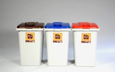 大摩家 45L可連結環保分類垃圾桶/收納桶(可混色3入) 寬36*深43*高56 CM (7折)