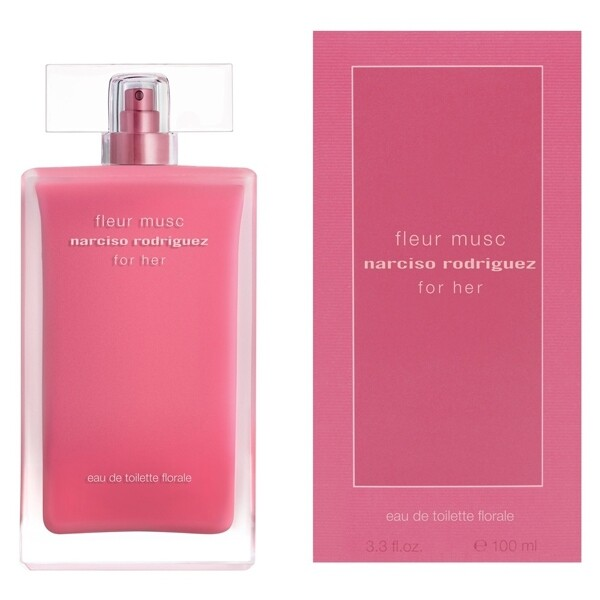 narciso rodriguez for her fleur musc 桃色花舞淡香水 100ml