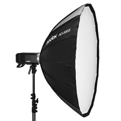 [享樂攝影]godox神牛 ad400 pro/ad300 pro 專用85cm柔光罩 含蜂巢網格 (10折)