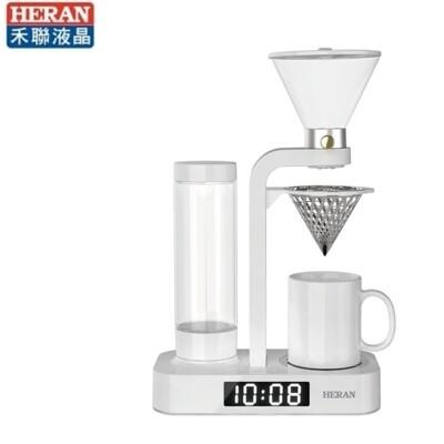 【禾聯家電】花灑滴漏式咖啡機《HCM-05HZ010》304不鏽鋼磁吸式可拆洗濾網 (9折)