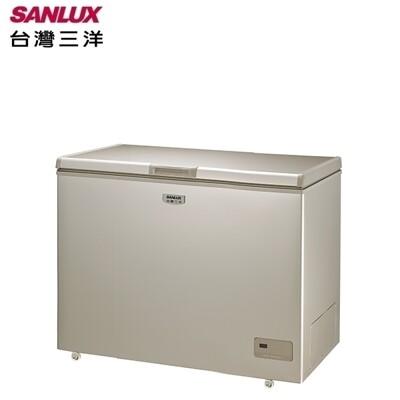 三洋家電320l 上掀式風扇式無霜冷凍櫃scf-320gf(含拆箱定位) (9折)