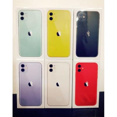 【0卡分期】蘋果手機 apple iPhone11 128g 6.1吋大螢幕 全新商品 台灣公司貨 (7.4折)