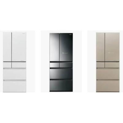 【免卡分期】Panasonic國際牌日本製 600L六門 變頻冰箱 NR-F605HX 玻璃面板無邊 (7.4折)