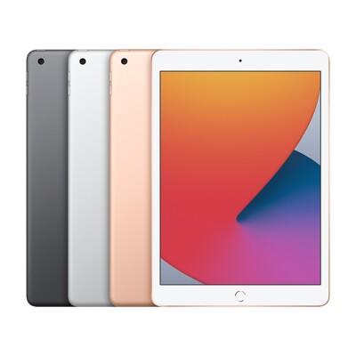 【免卡分期】蘋果平板Apple 2020 iPad 8代 Wi-Fi 32G 10.2吋 平板電腦 (7.5折)