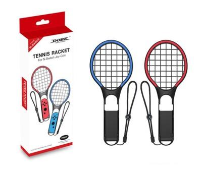 新款DOBE Switch炫彩網球拍 NS左右小手柄雙色運動網球拍TNS-1862 (5折)