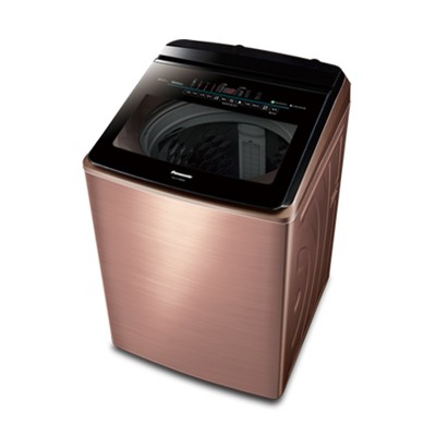 免卡分期panasonic國際牌 18kg 變頻直立式洗衣機 na-v198ebs-b 薔薇金 (7.4折)
