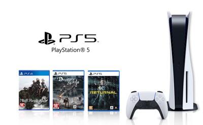 【0卡分期】SONY PS5同捆組 光碟版 台灣公司貨 原廠保固一年 全新商品 現貨 (7.5折)