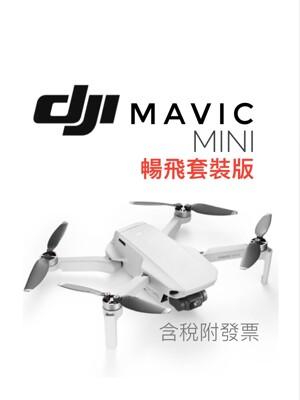 [台灣公司貨] DJI MAVIC MINI【套裝版】(保固1年)空拍機/無人機 含稅附發票 (8.2折)