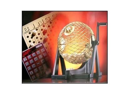 【手動搖獎機】樂透機 賓果機 8英吋金屬球 BN-800 -75球賓果 搖獎機 (5折)