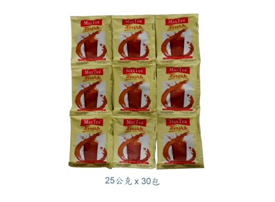 【MaxTea 印尼奶茶/印尼拉茶】(25g*30包) 美詩泡泡奶茶 (4.6折)