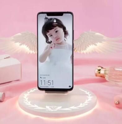 【3AbestBuy】抖音款~天使翅膀/天使之翼 無線充電手機座 10W快充版充電座(正版) (4.2折)