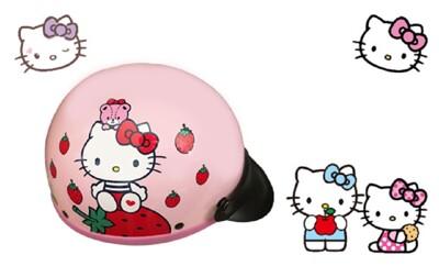 Hello Kitty 凱蒂貓  半罩式  機車 安全帽  碗公帽  正版三麗鷗授權 (6.2折)