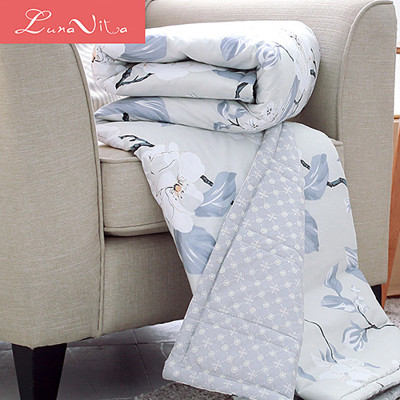 【Luna Vita】台灣製純棉活性環保印染透氣涼被 (4折)