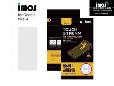 子奇 加贈空壓殼 IMOS Google Pixel 4 5.7吋 霧面 電競螢幕保護貼 (5折)