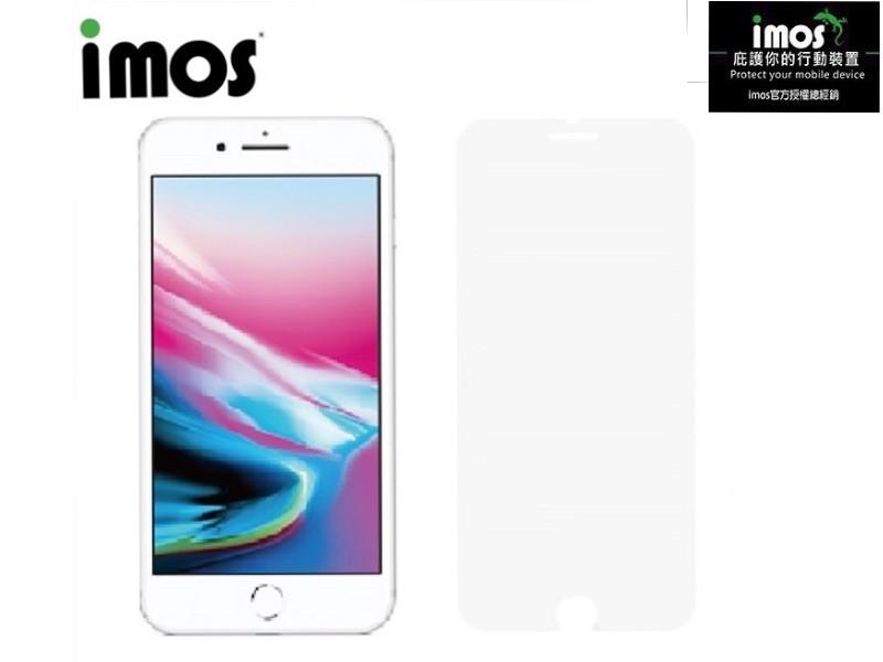 子奇 imos iphone 7 plus 8 plus 2.5d 康寧非滿版玻璃螢幕保護貼