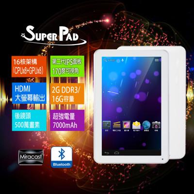 Super pad 10.1吋 八核心 平板電腦 (7.2折)
