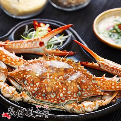 【崁仔頂魚市】佐渡生凍藍蟹(230g/隻) (1.5折)
