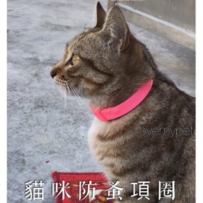 貓咪紅色貓掌版本防蚤項圈