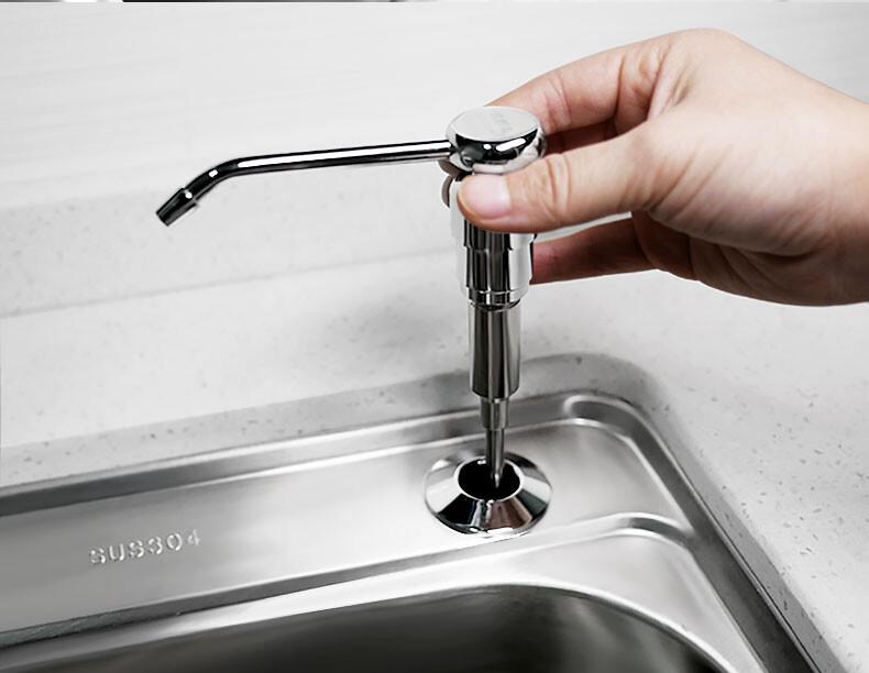 免運 現貨 清理 成本價拋售  給皂器 皂液器皂液器廚房水槽用洗潔精瓶子按壓瓶洗菜盆洗滌劑靈不銹