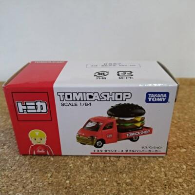 TOMICA- 日本 TOMICA SHOP 限定 漢堡車 (8.3折)