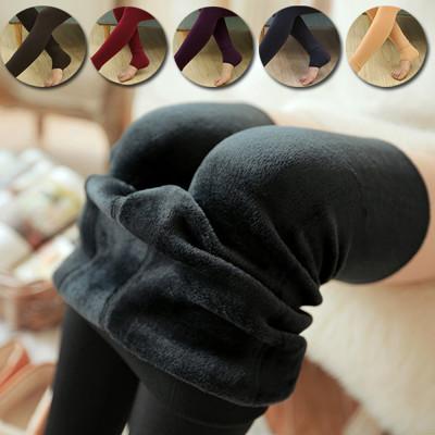 冬季加厚刷毛彈力內搭褲 (4折)