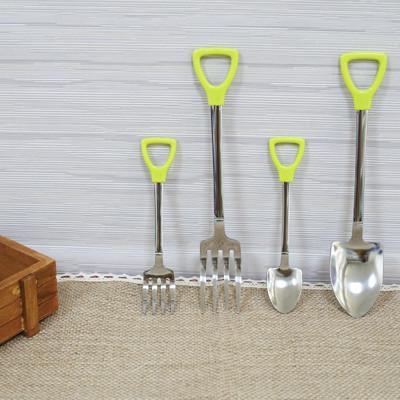 日式鏟子造型不鏽鋼餐具 (1折)