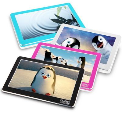 DW-C04時尚金屬框4.3吋觸控螢幕MP5(內建8GB+外接8G記憶卡)(加贈5大好禮) (2.7折)