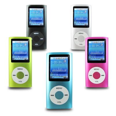 B1823蘋果四代 1.8吋彩色螢幕 MP4隨身聽(內建8GB記憶體)加送3大好禮 (2.1折)