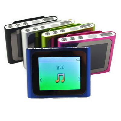 B1810蘋果六代 插卡式MP4隨身聽(加16G記憶卡)(送三大好禮) (2.9折)