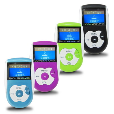 A28亮彩蘋果 螢幕插卡式MP3隨身聽(加8GB記憶卡)加送4大好禮 (2.5折)