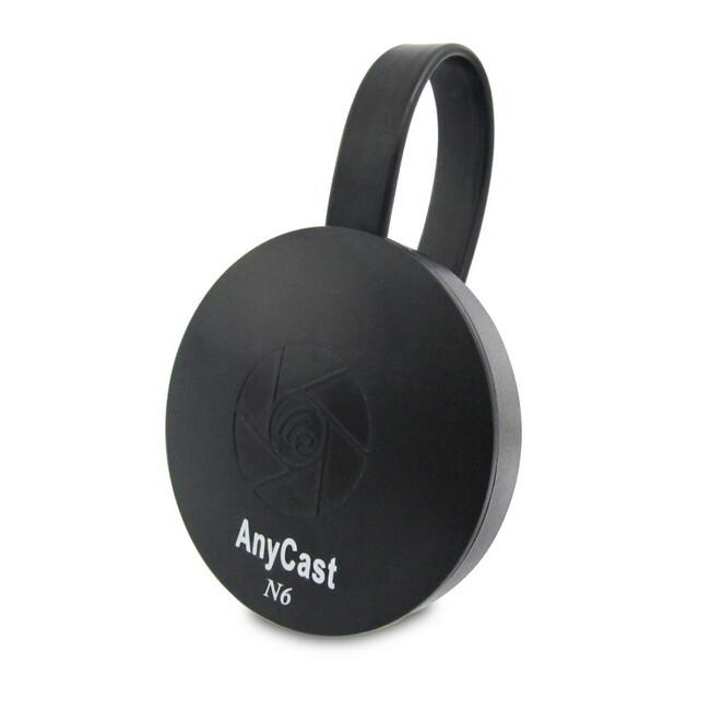 六代n6圓形六扇款anycast雙核全自動無線影音傳輸器(送4大好禮)