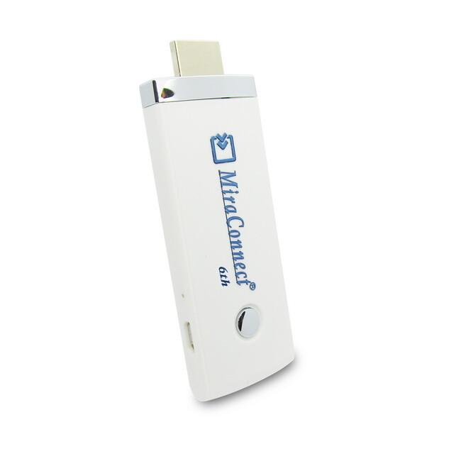 六代miraconnect-36w高清自動雙核無線影音鏡像器(送4大好禮)