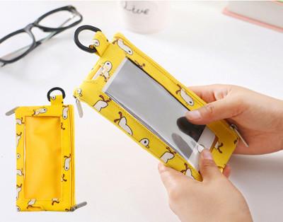 可觸屏WeekEight手機零錢包 可放 4.7寸手機包 (3.6折)