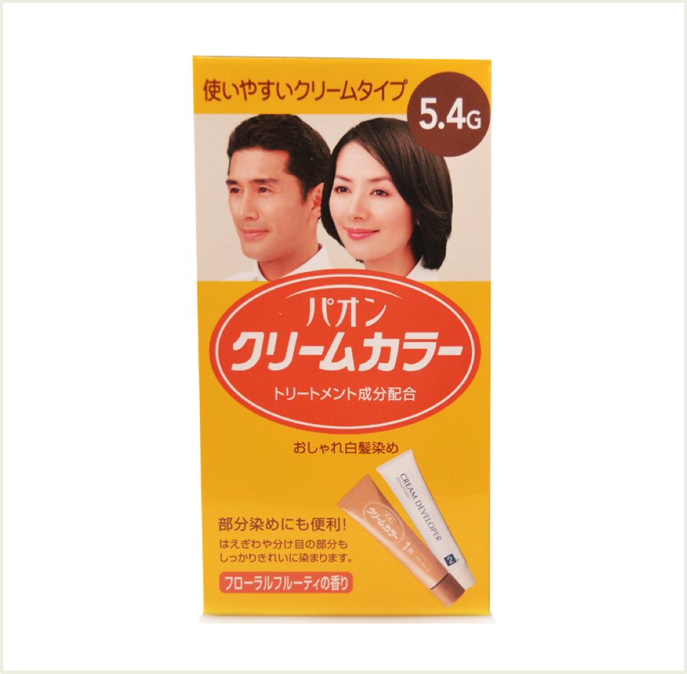 潼漾小舖  寶王 護髮式染髮霜 5.4g