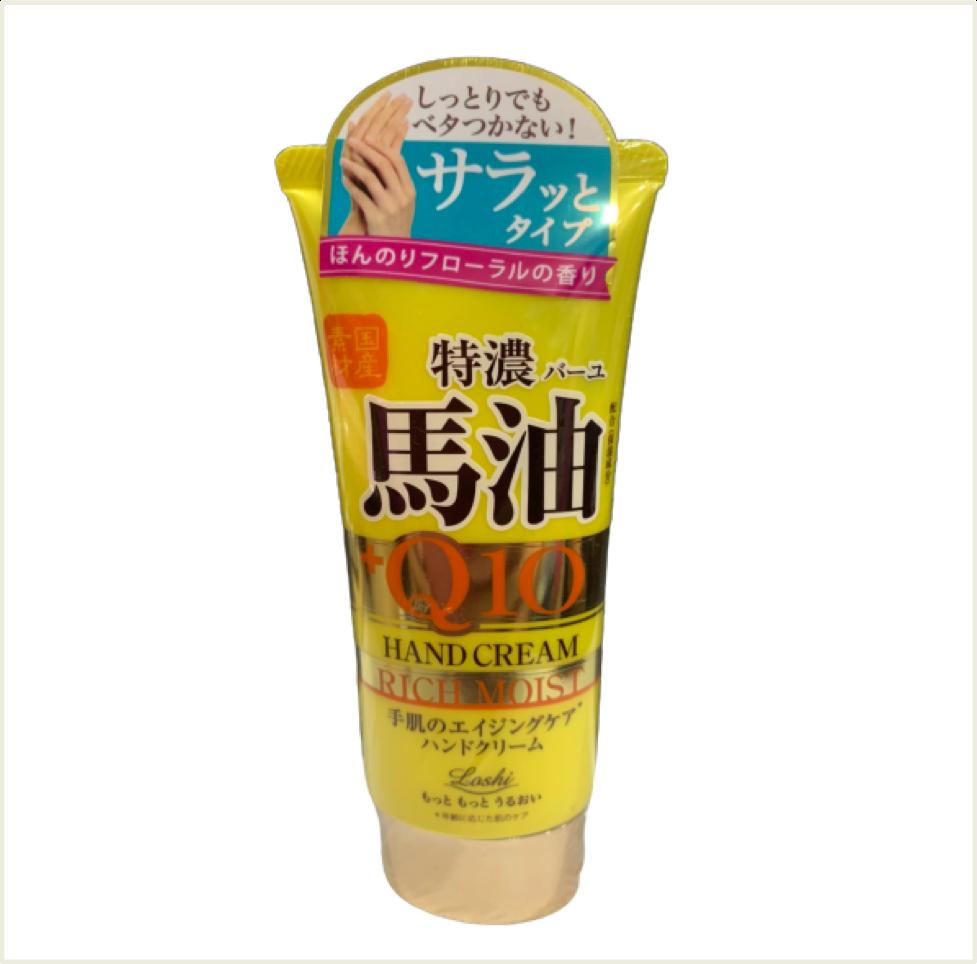 潼漾小舖 loshi 日本製馬油+q10 護手霜 80g