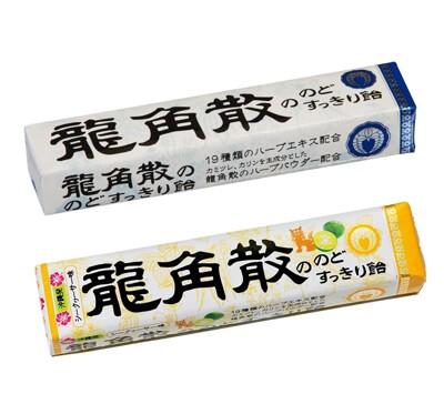 ☆潼漾小舖☆日本 龍角散 喉糖 條糖 (原味/金桔)42g/條 (5.9折)