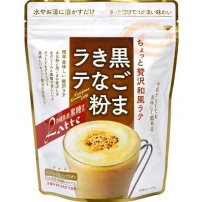 ☆潼漾小舖☆ 日本 味源 黑芝麻黃豆粉拿鐵風味 220g (6.3折)