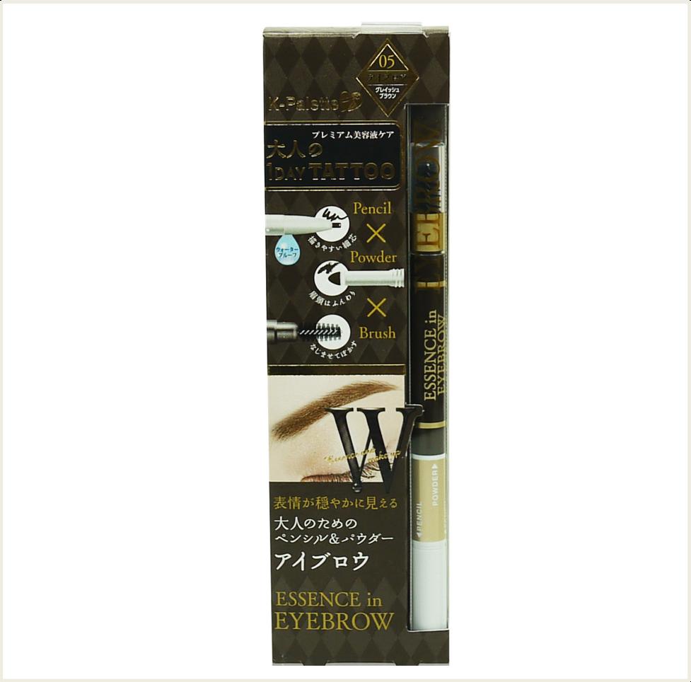 潼漾小舖 k-palette 24h 三用眉筆 (05 greyish brown)