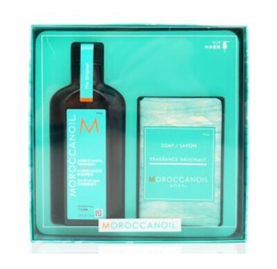 ☆潼漾小舖☆ ALTERNA MOROCCANOIL 摩洛哥優油禮盒(125ML+沐浴皂) (7.4折)
