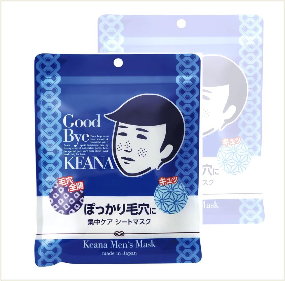 潼漾小舖 日本 石澤研究所 毛穴撫子 男子專用零毛孔面膜 10枚入