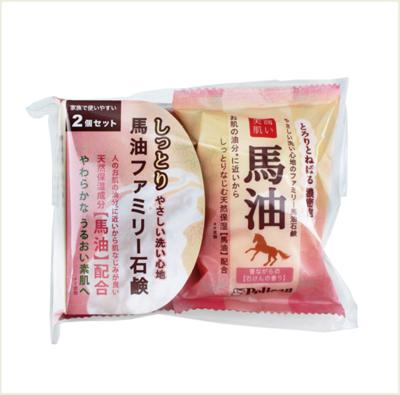 ☆潼漾小舖☆ Pelican 馬油整肌保濕香皂 (2入/袋) (5折)