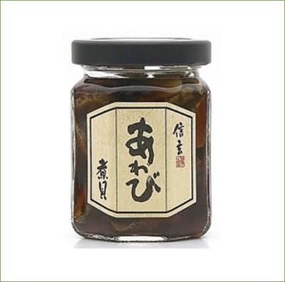 ☆潼漾小舖☆日本 信玄 黃金鮮汁鮑魚罐 50g あわび煮貝 (6.7折)