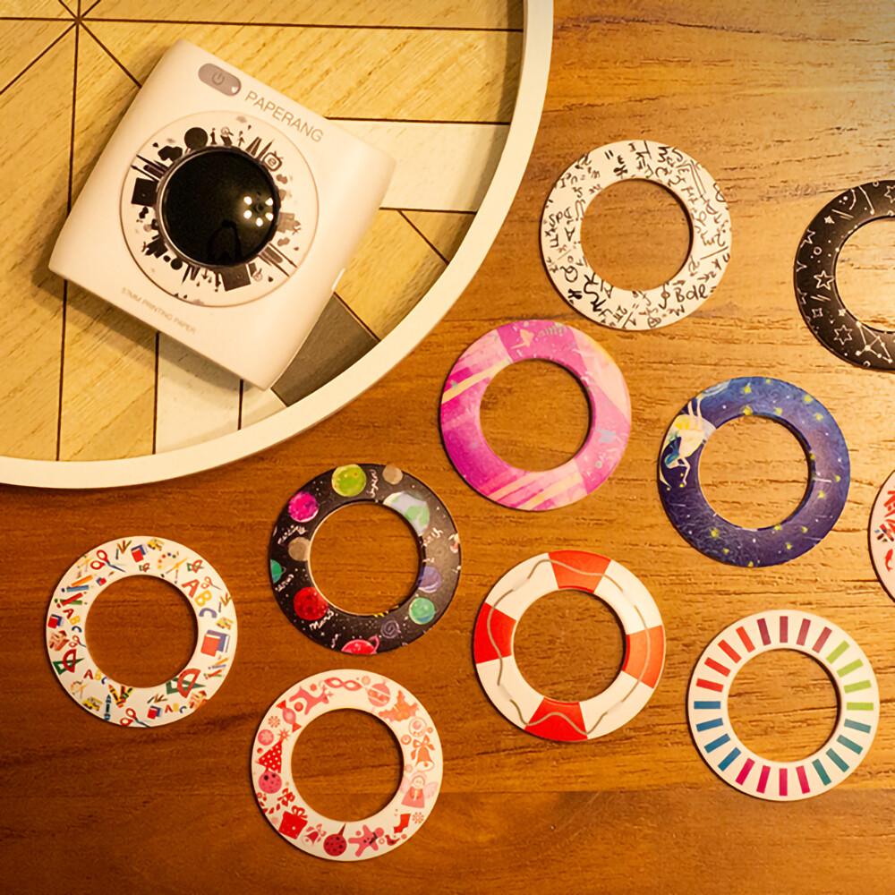 paperang 二代p2 口袋列印小精靈-喵喵機+ 光圈環 - 宇宙星座
