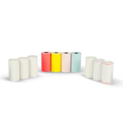 PAPERANG喵喵機 感熱紙 超值組合包(貼紙白色彩色花邊各2組) (8.2折)