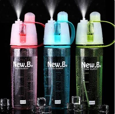 創意戶外、噴與喝水壺、運動水壺補水美容保濕補妝噴水隨手杯子噴霧水壺噴霧水杯400ML (2折)