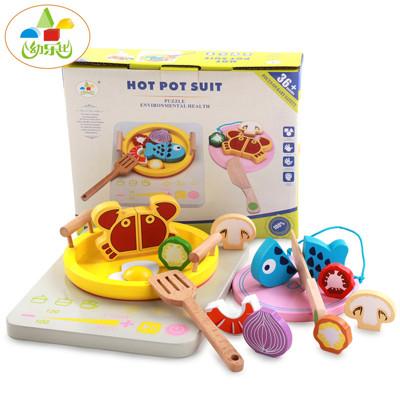 【家家酒 火鍋玩具組】過家家玩具 仿真食物 廚房做飯 廚房家家酒 廚房玩具 木製玩具 家家酒 (2.7折)