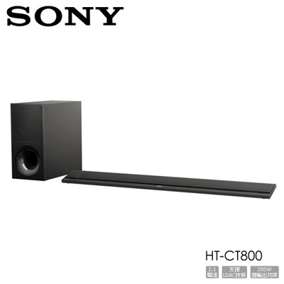 SONY HT-CT800 單件式劇院 環繞音響 家庭劇院 聲霸 SOUNDBAR 公司貨 (8.7折)
